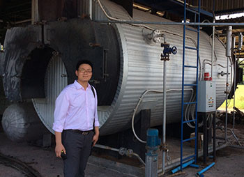 10TPH Palm Oil Processing Line In Thailand