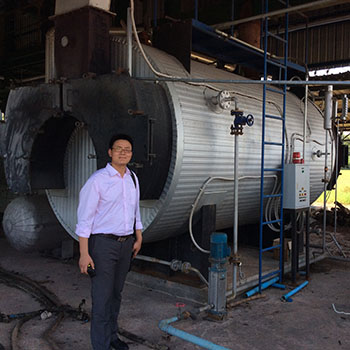 10TPH Palm Oil Processing Line Project In Thailand