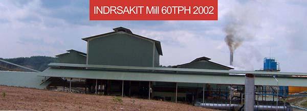 indrsakit mill 60TPH 2002
