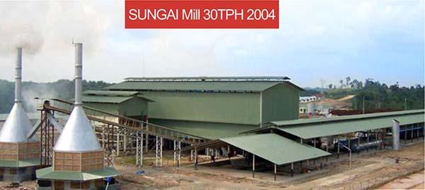 sungai mill 30TPH 2004