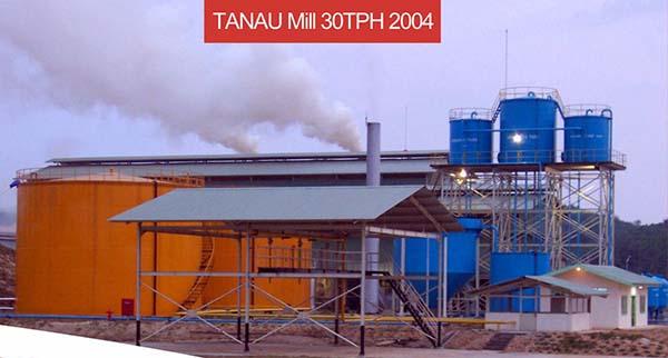 tanau mill 30TPH 2004