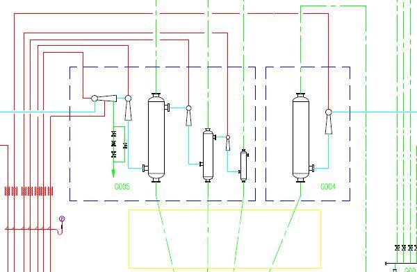 100TPD Palm Oil Refining (Vacuum system) Plant Flowchart