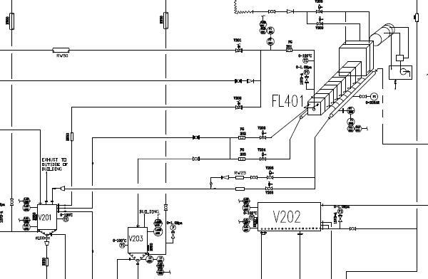 200TPD Palm Oil Fractionation Plant Flowchart