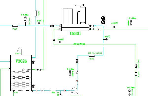 200TPD Palm Oil Fractionation Process Equipment Flowchart