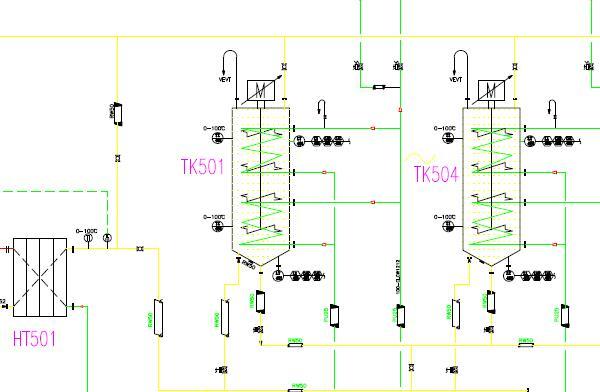 60TPD Palm Kernel Oil Fractionation Process Plant Flowchart