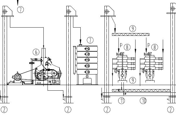 60TPD Palm Kernel Prepress Process Equipment Flowchart