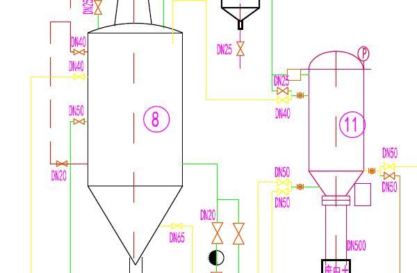 6TPD Semi Continuous Rice Bran Oil Refinery Flowchart-Model