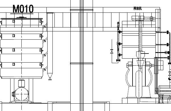 8-10TPD Rice Bran Oil Pressing Process Equipment Flowchart
